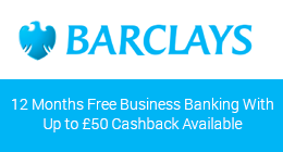 Barclays business bank account with cashback