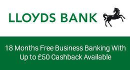 LLoyds business bank account with cashback